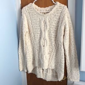 Anthropologie Moth Loose Knit Sweater Size M